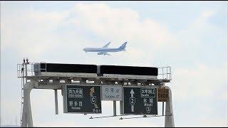 福岡空港 34アプローチがかっこいい‼! ビジュアルアプローチ7連発‼