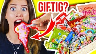 GIFTIGE AMAZON JAPAN CANDY ÜBERRASCHUNGS-BOX?! 💥😱