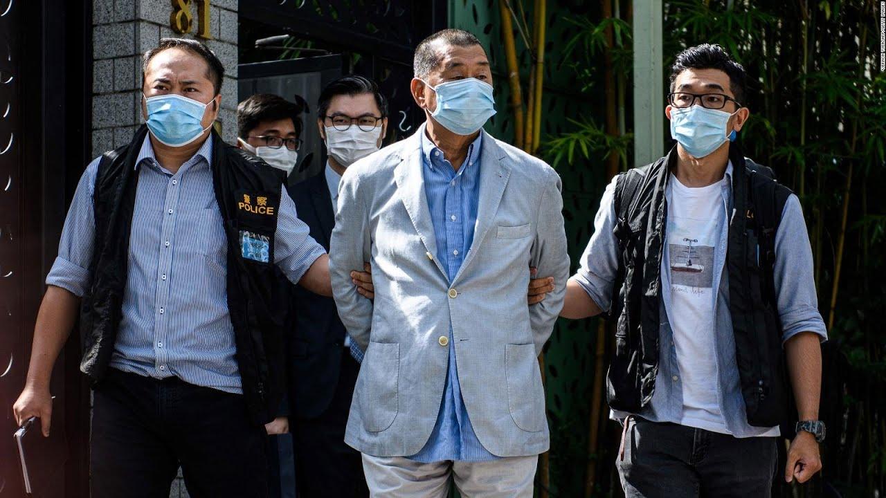 突发:被捕逾36小时,黎智英等人陆续获准保释(20200811)