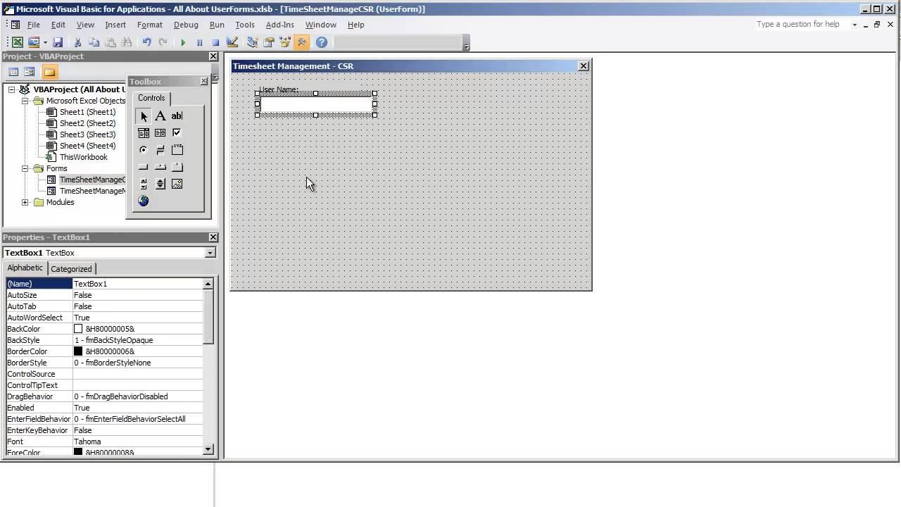 Name management vba - Vba Programming For Excel 2010 V4 16 Userform Gui Final Overview