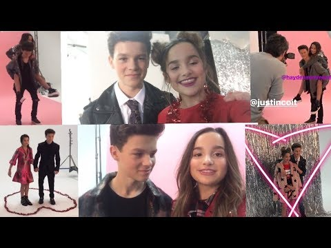 [BEHIND THE SCENES] Annie and Hayden's Couple Photoshoot - TigerBeat