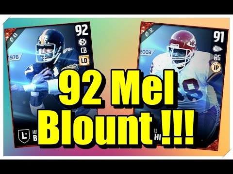 MUT 17 - Mel Bount and Will Shields (Pack Opening)
