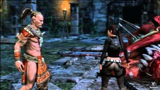 Lara Croft: Guardian of Light - All unlockable outfits cutscene [HD]