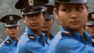 NEPAL POLICE we in blue