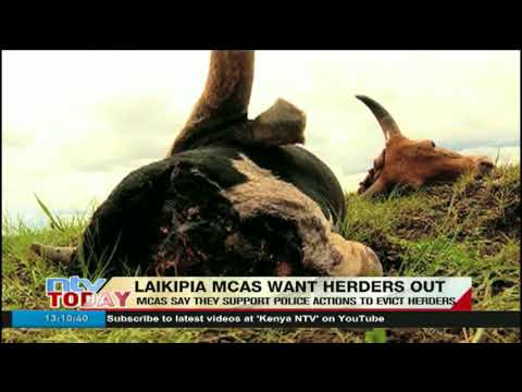 Laikipia MCAs want herders out