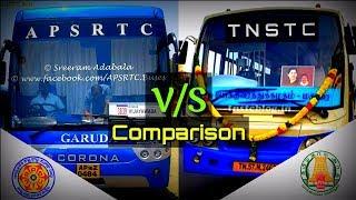 APSRTC VS TNSTC Comparison HD Rating Androtek