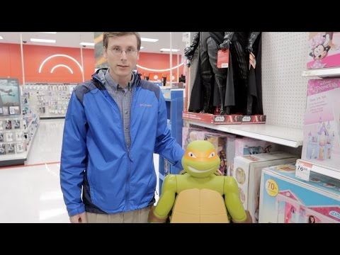Don't  This to My Kids: Christmas Shopping at Target