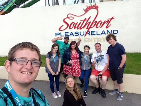Southport Pleasureland Vlog July 2016