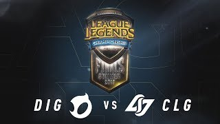 DIG vs. CLG - | Third Place | NA LCS Summer Split Game 2 | Team Dignitas vs. CLG (2017)