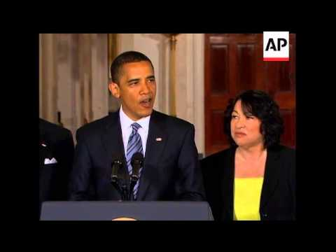 The Senate has confirmed Sonia Sotomayor as the first Hispanic Justice on the US Supreme Court. The