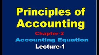 Principles of Accounting// Accounting Equation//Summary of Transaction//
