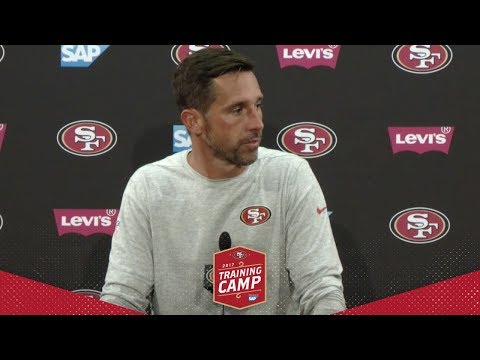 Kyle Shanahan Recaps 10th Training Camp Practice