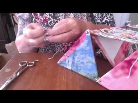 how to make a kite step by step