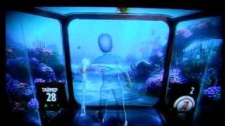 Демонстрация игр Adventures для Kinect XBOX 360.AVI