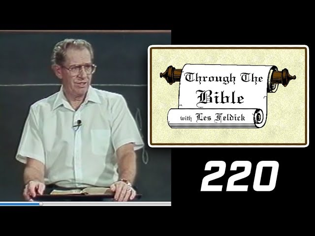 [ 220 ] Les Feldick [ Book 19 - Lesson 1 - Part 4 ] Saul's Conversion