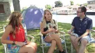 Matt & Gen... en camping!/entrevue avec Marie-Mai/Régates 2014