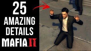 25 AMAZING Details in Mafia II