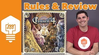 Council of 4 Review - JonGetsGames
