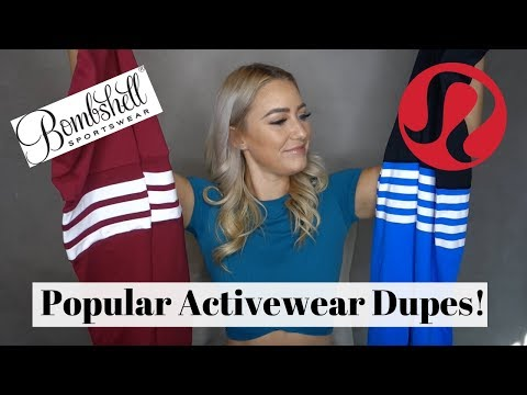 Popular Activewear Dupes! Queenie Ke Try-On Haul & Review