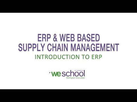 Introduction to ERP System