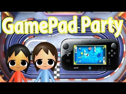 ABM: Wii Party U GamePad Mode Gameplay HD!