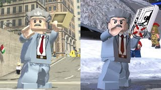 J. Jonah Jameson Evolution in Lego Marvel videogames!