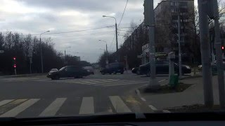 Sunday Moscow driving 16/11/2014 (timelapse 4x)