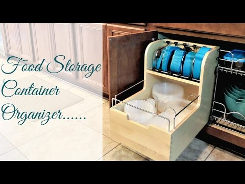 How To Organize Food Storage Containers | The BEST! Food Container Organizing System