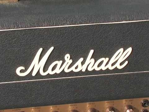 Marshall Amp Modification by Lee Jackson Metaltronix