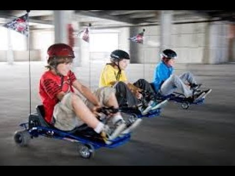 Razor Ground Force Drifter Go Kart 2 Youtube