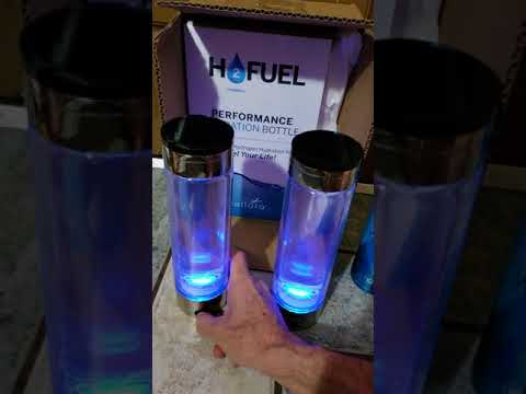 VOLLARA H2FUEL HYDROGEN WATER BOTTLE COMPARISON