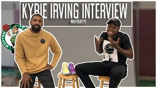 Kyrie Irving x Filayyyy  👟👟 | 1 on 1 Interview