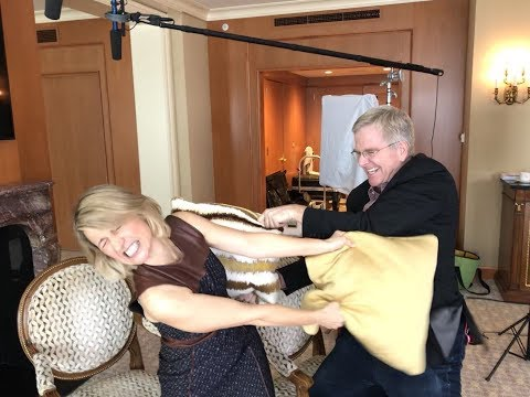 Rick Steves and Samantha Brown Take Off the Pillow Cases