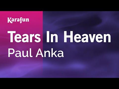 Karaoke Tears In Heaven - Paul Anka