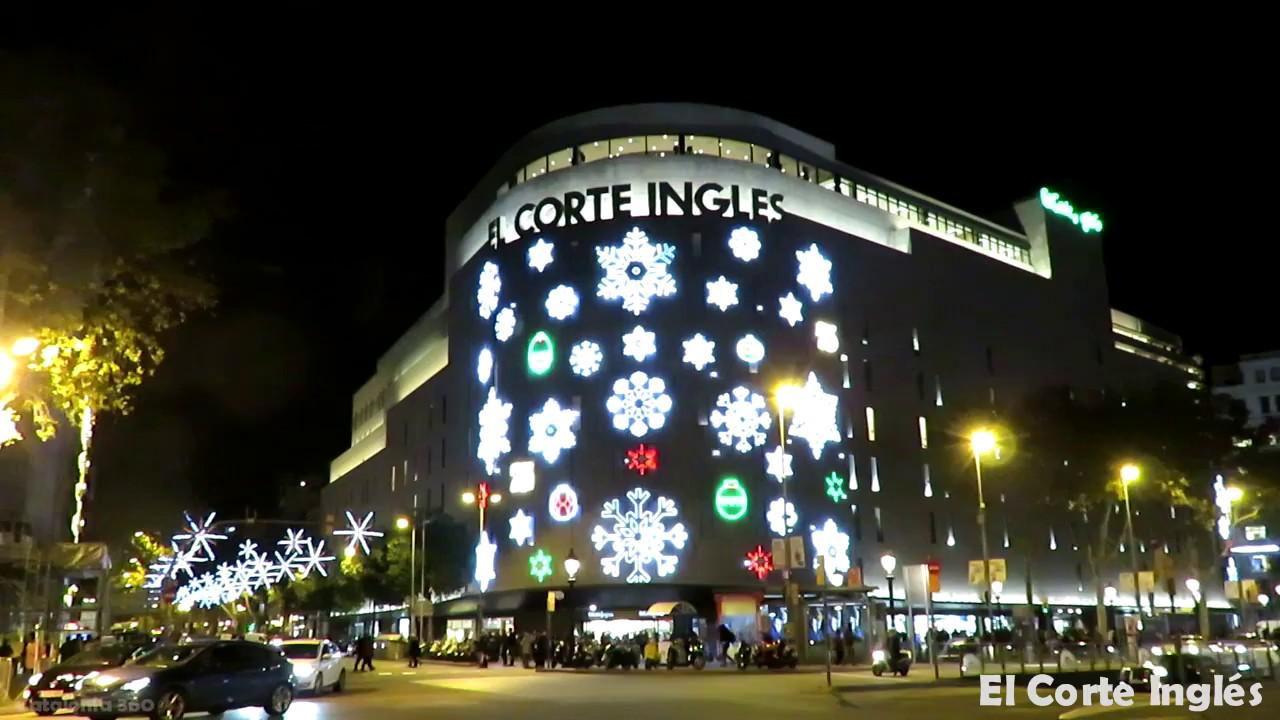 El corte ingl s barcelona christmas nadal navidad for El corte ingles navidad