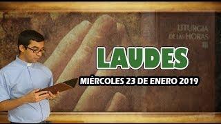 Oración de la mañana (Laudes), MIERCOLES 23 DE ENERO 2019 | Padre Sam |
