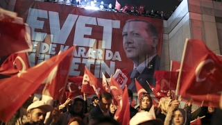 Turkey votes to expand presidential powers