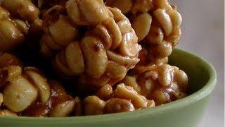 Recipe - Jonna Pelala Laddu (Jowar Seeds &amp Jaggery Sweet) Recipe With English Subtitles