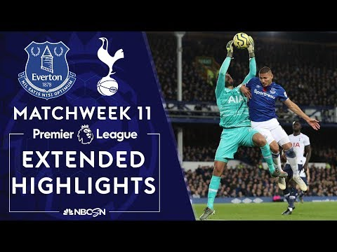 Everton v. Tottenham | PREMIER LEAGUE HIGHLIGHTS | 11/03/19 | NBC Sports