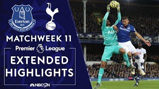 Everton v. Tottenham | PREMIER LEAGUE HIGHLIGHTS | 11/03/19 | NBC Sports