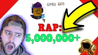 10,000,000 ROBUX VALUE!? (Roblox Trading)