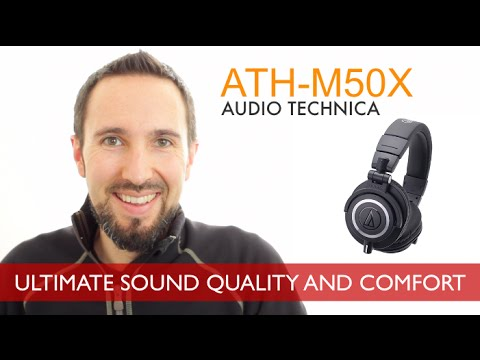 Audio Technica ATH-M50X Review - Holy Grail Of Headphones Under $200?