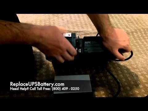 APC RBC17 Battery Replacement - APC BackUPS RS 700