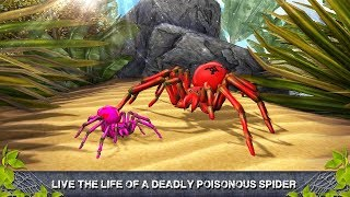 🕷🕸Black Widow Simulator Amazing Spider Hunt 3D- By Virtual Animals World-Android