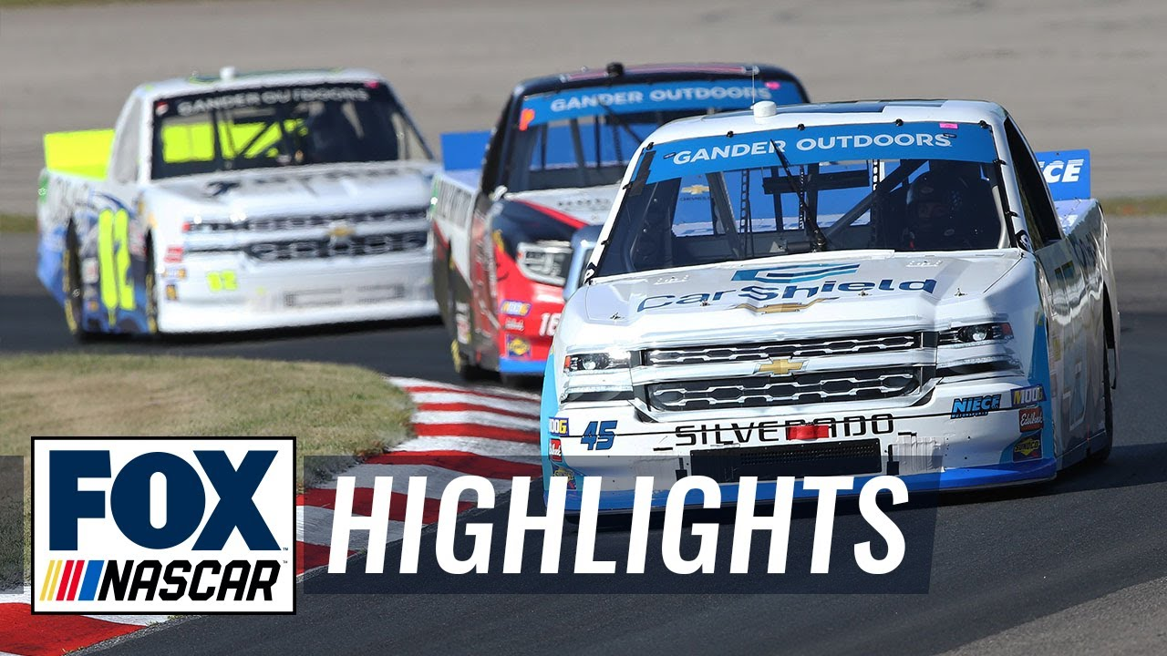 Chevrolet Silverado 250 at Canada | NASCAR on FOX HIGHLIGHTS