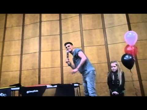 Kieron Entering the party 30/3/13