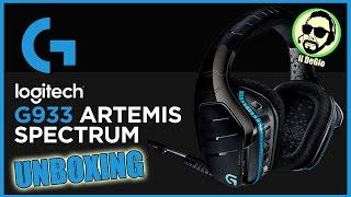 UNBOXING - Cuffie Logitech G933 Artemis Spectrum - ITA
