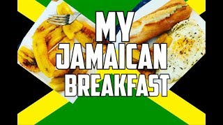 My Jamaican Breakfast Fried Plantain & Egg | Chef Ricardo Cooking