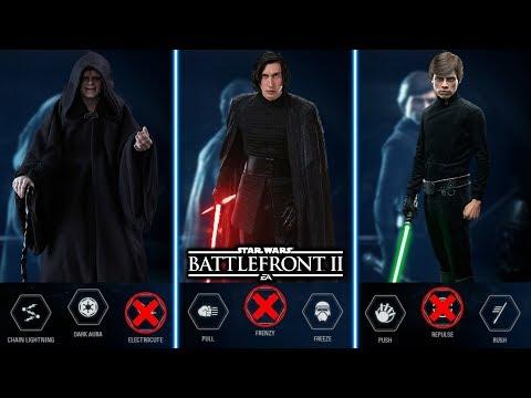 TOP 10 WORST HERO ABILITIES! Star Wars Battlefront 2