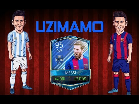 UZIMAMO 96 TOTS MESSIJA, OTVARAMO TOTS I COCACOLA PEKOVE !!!  FIFA Mobile via Omlet Arcade!